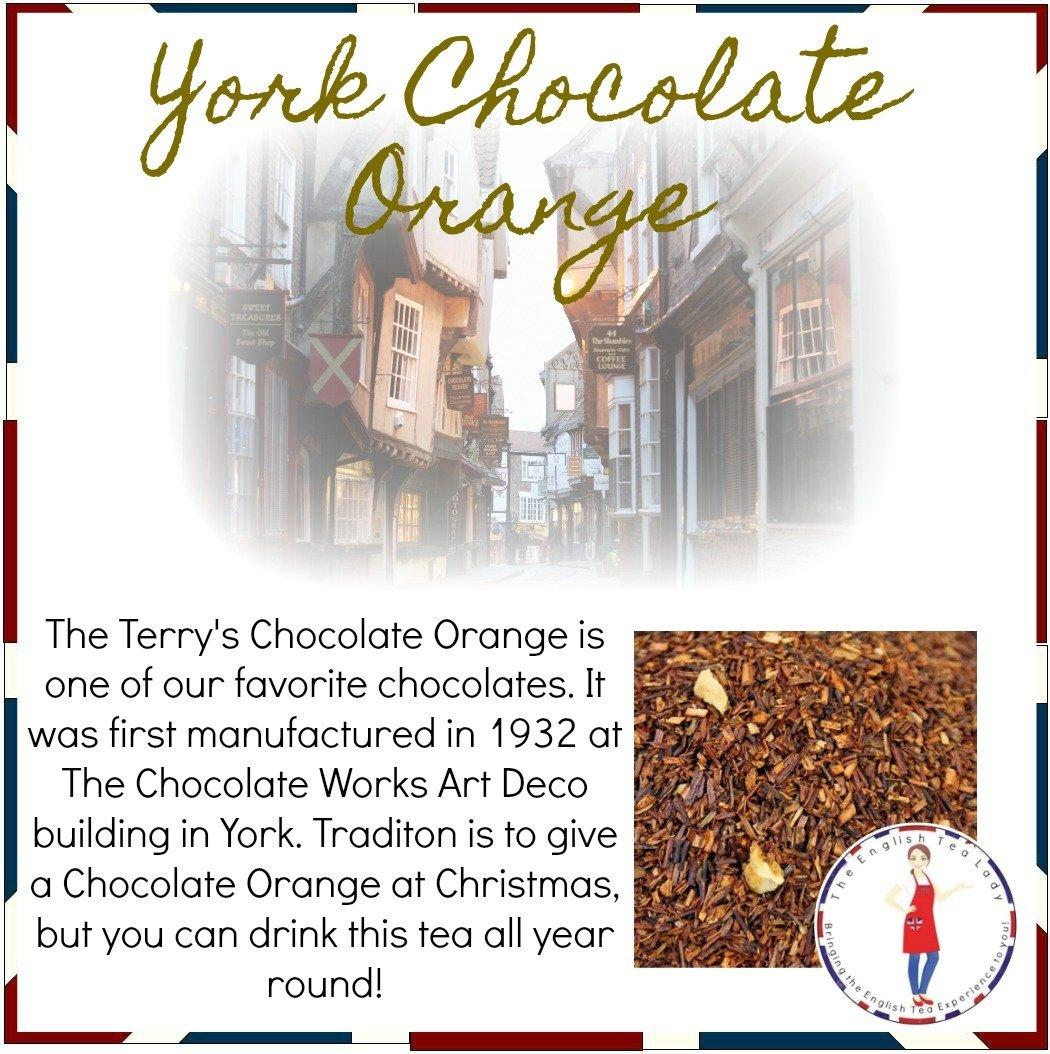 York Chocolate Orange - 1oz CAF0003