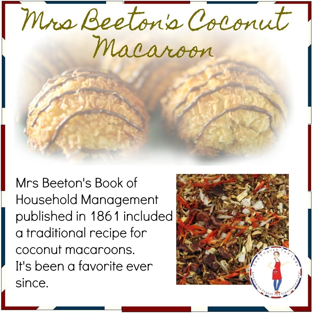 Mrs Beeton's Coconut Macaroon - 1oz CAF0007