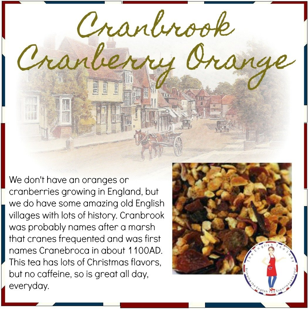 Cranbrook Cranberry Orange - 1oz CAF0012