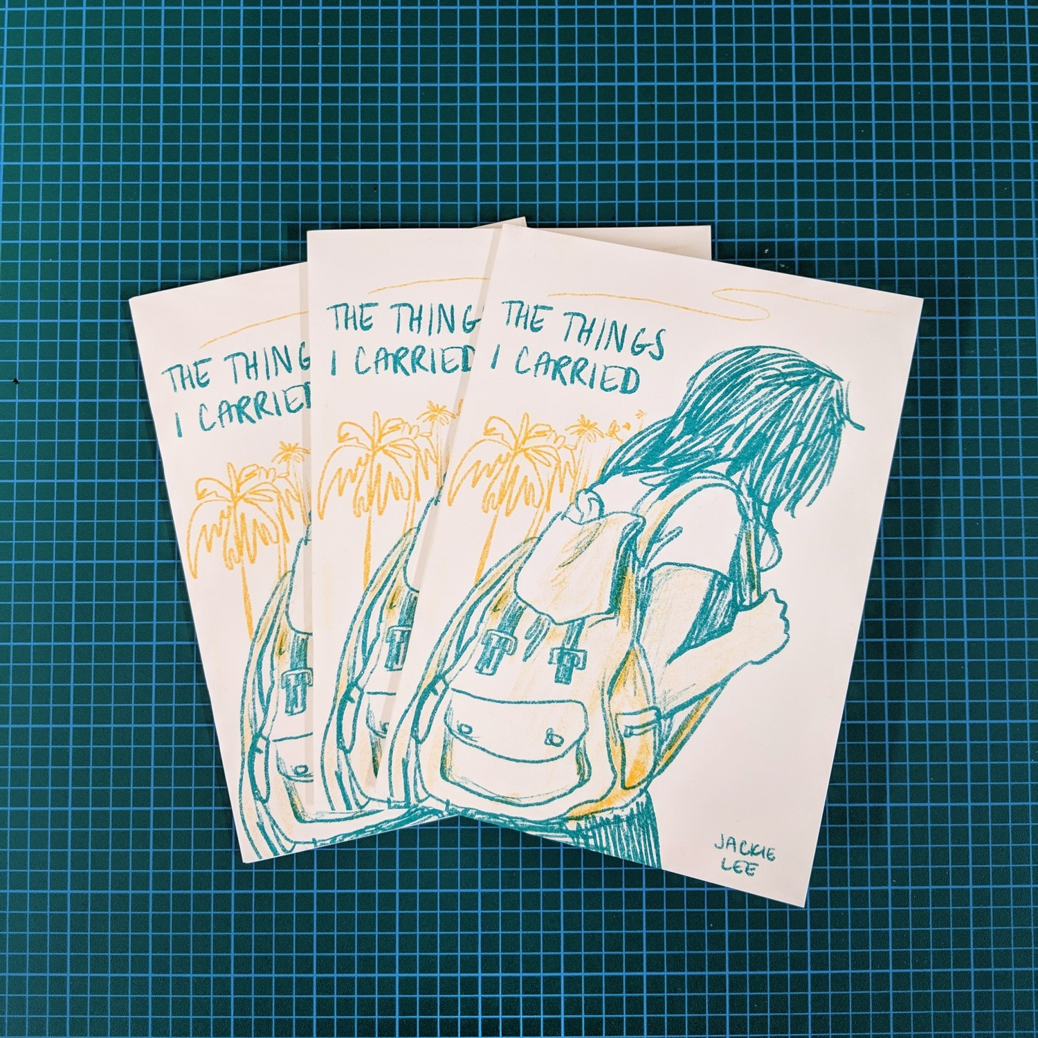 The Things I Carried Zine