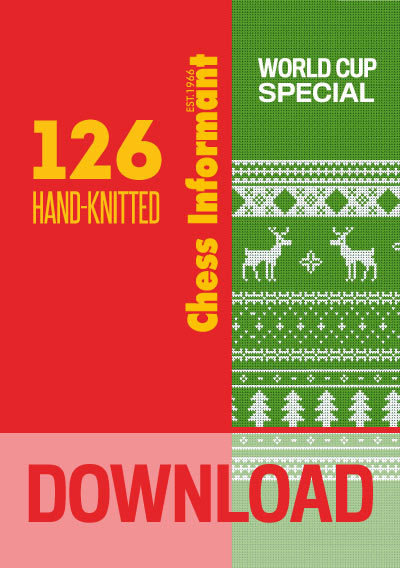 Chess Informant 126 Hand-Knitted - DOWNLOAD VERSION