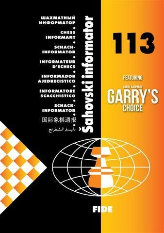 Chess Informant 113 Clockwork REPRINT