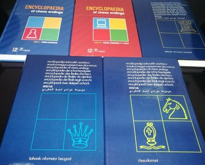 Encyclopedia of Chess Endings I-V (Five book set)