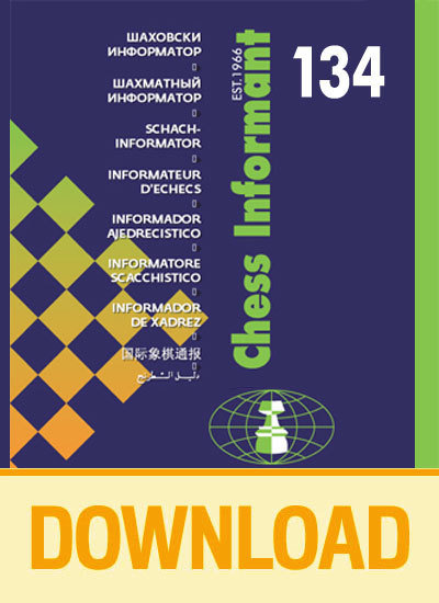Chess Informant 134 - DOWNLOAD VERSION