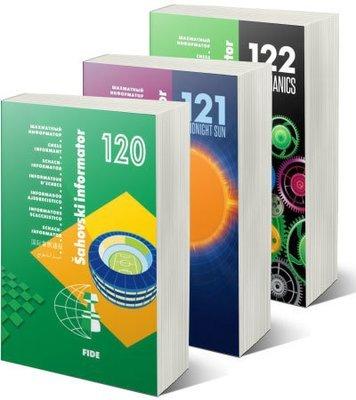 Chess Informants - 2014. Series - CI 120+121+122