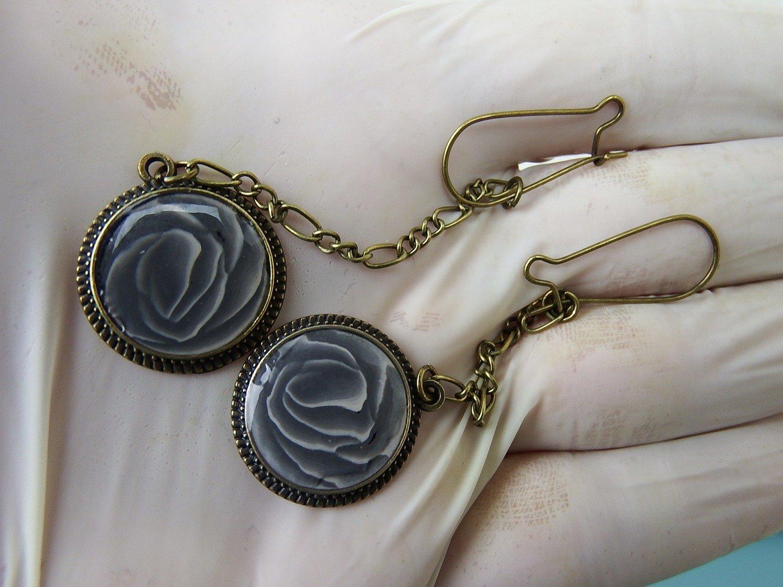 0034 - Boucles - Roses noires