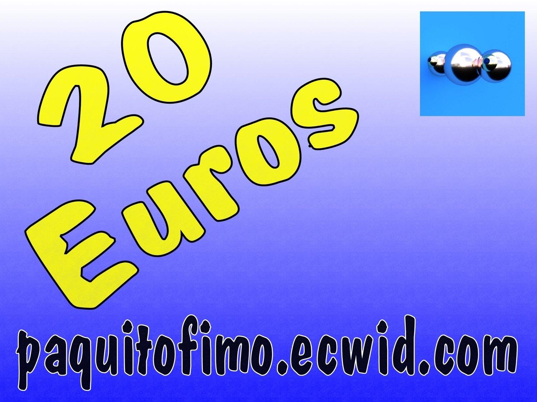 0109 - Chèques cadeaux - 20 Euros