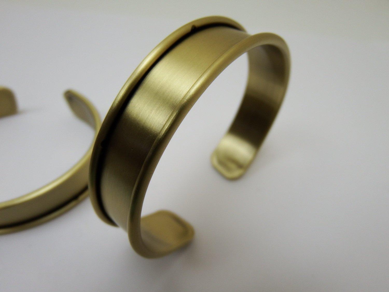0131 - Apprêts - Support Bracelet réglable - Zone 1cm - Bronze
