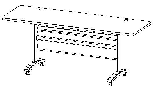 "72"" Training Table (6ft)"