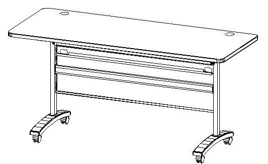 "60"" Training Table (5ft)"