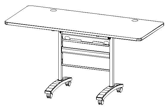 "48"" Training Table (4ft)"