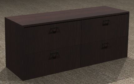 Double Lateral File Credenza 22x72