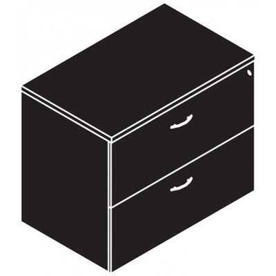 Storage, Lateral File, 2 Drawer, 36
