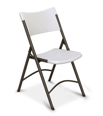 Correll RC400 Gray Granite Blow Molded Folding Chair (Min. Order 24 - See Below)