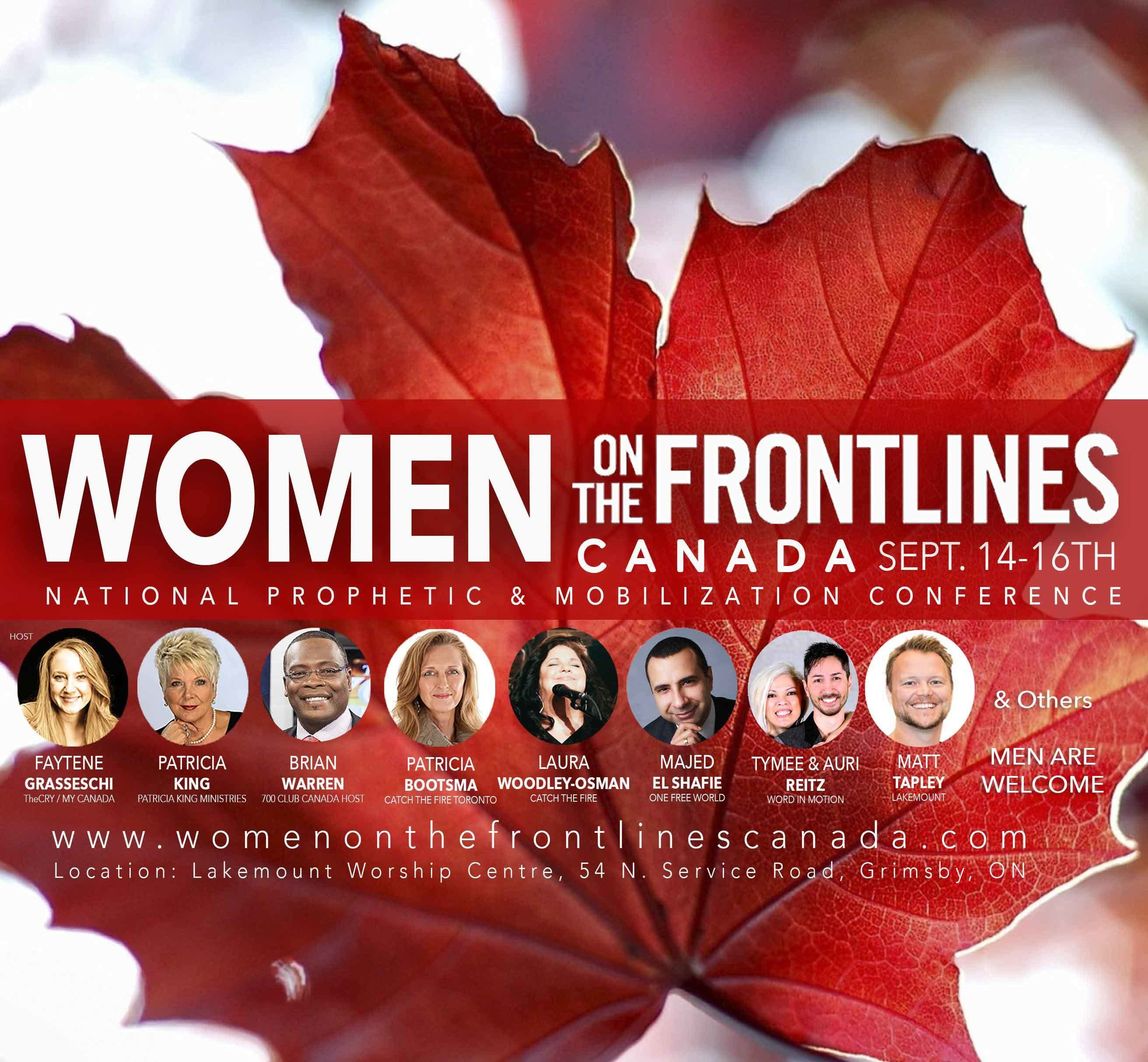Women on the Frontlines Canada - MP3 Set by Digital Download // Majed El Shafie & Patricia King (Saturday Night) 00008