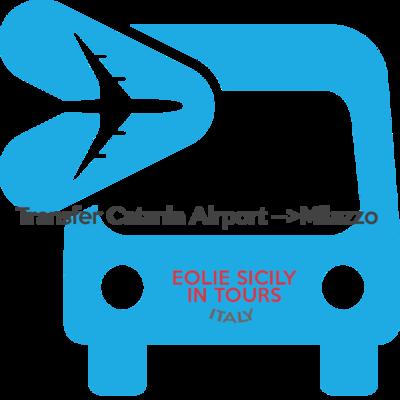 Orari validi dal 1/11 al 31/03 - Transfer Catania Apt --> Milazzo