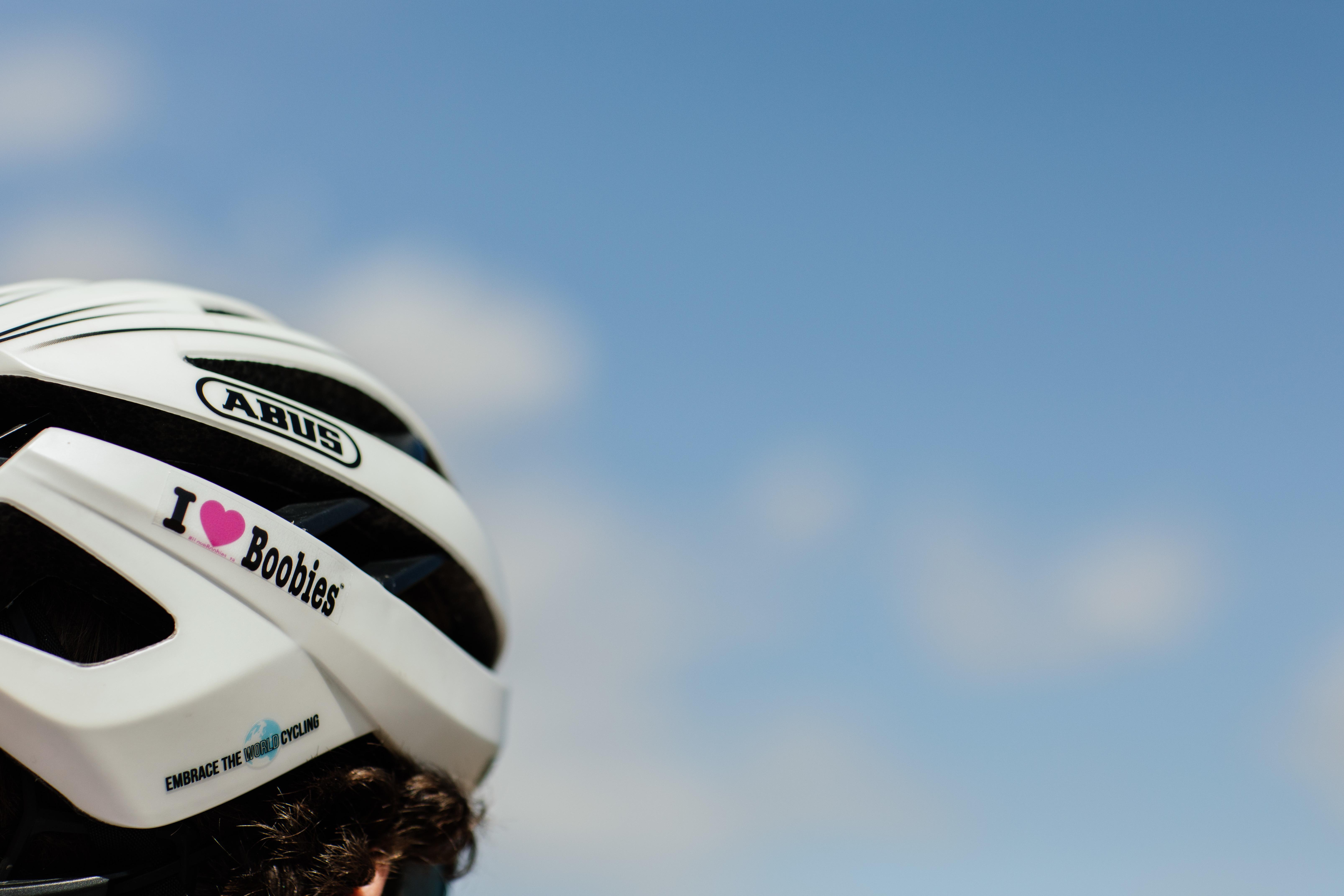 Helmet stickers: White Background