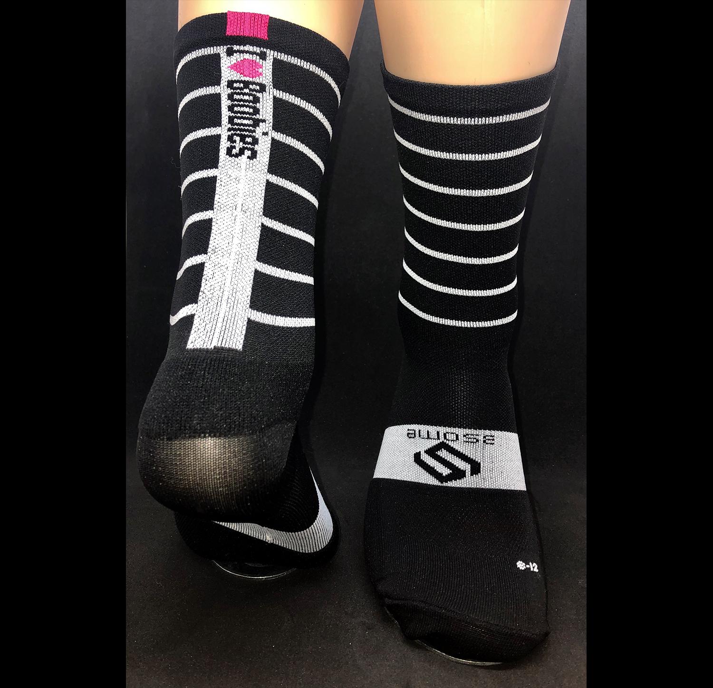 Thin Striped socks P020