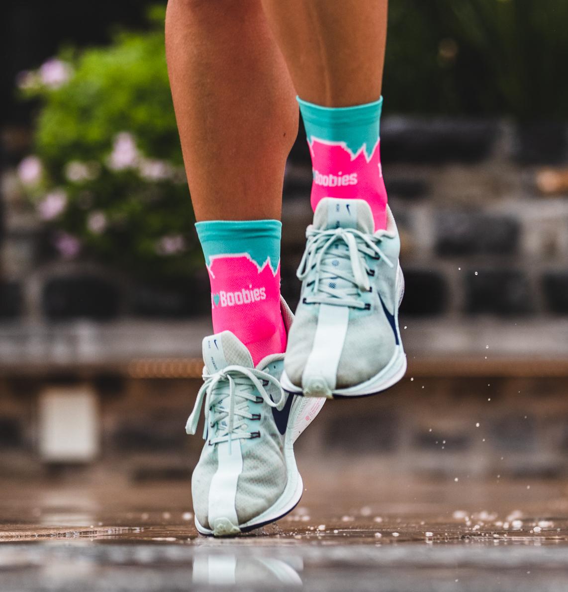 Table Mountain Pink Socks 80003