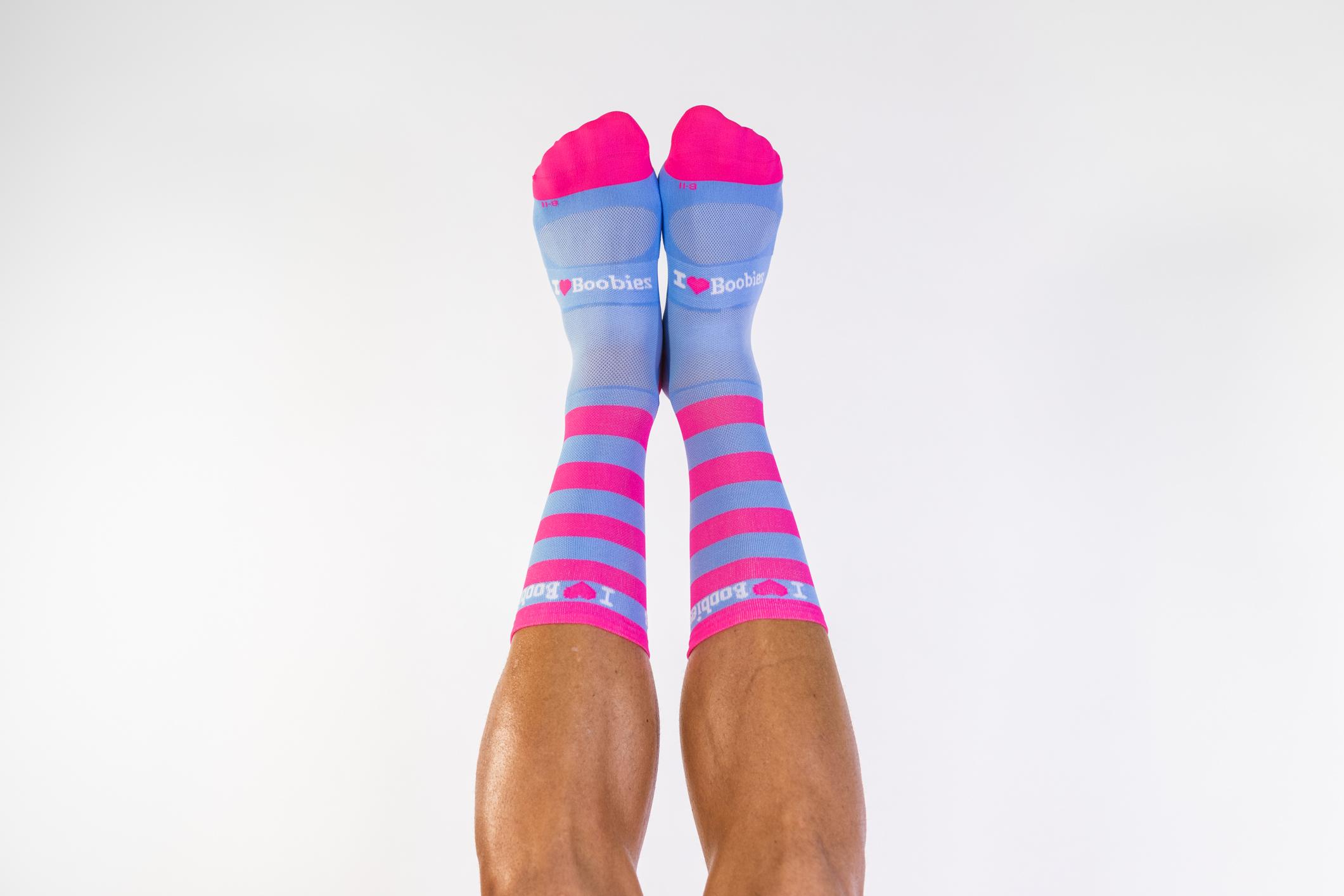 Pink & Blue Socks 80024