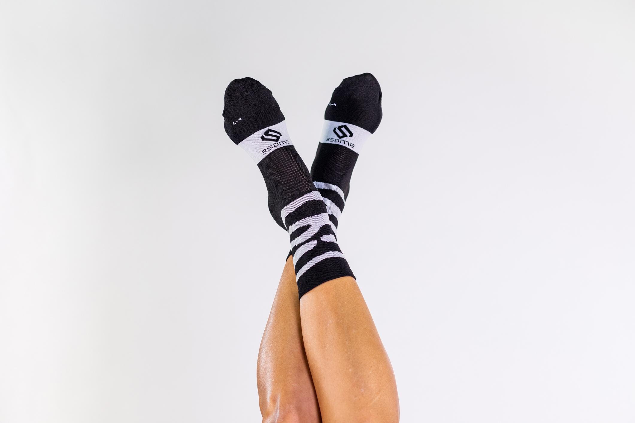 Zebra Print Socks P024