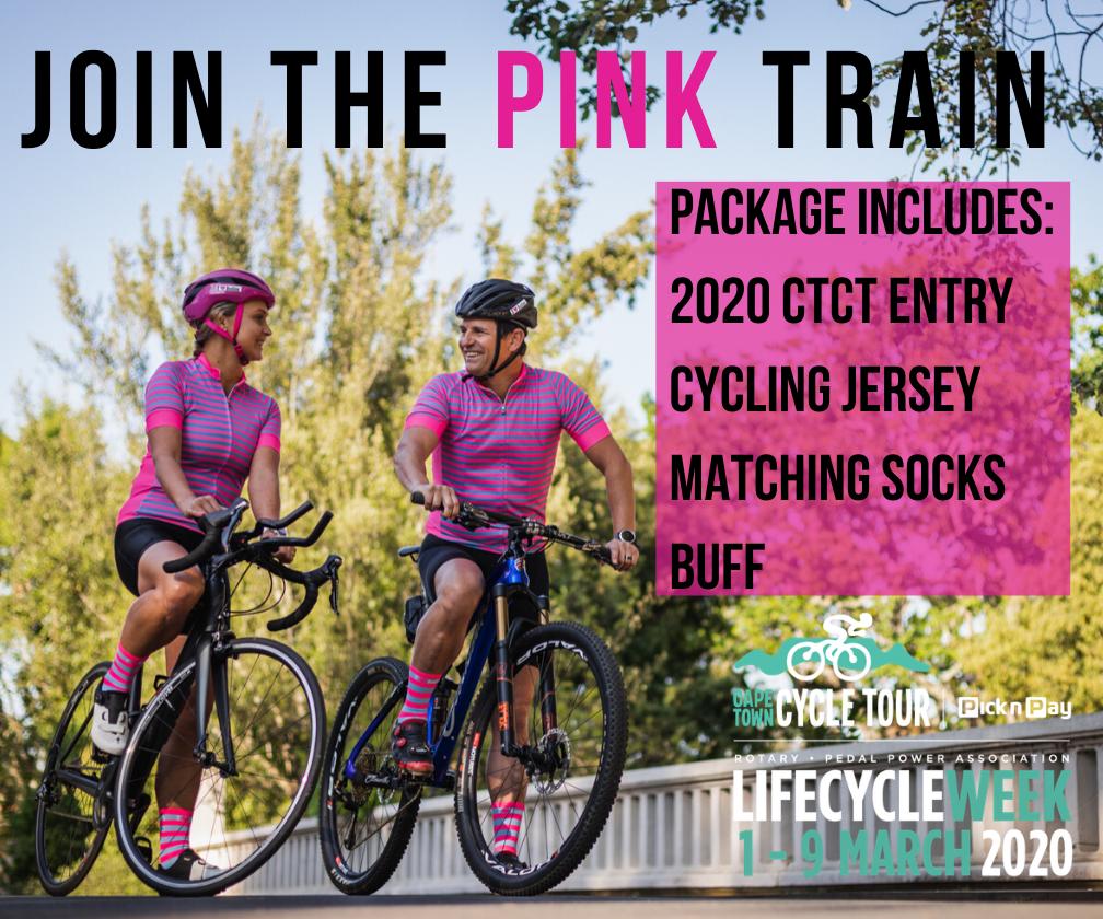 CTCT Pink Train 88278