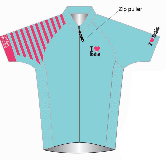 Cycling Shirt- Turquoise LADIES 00015