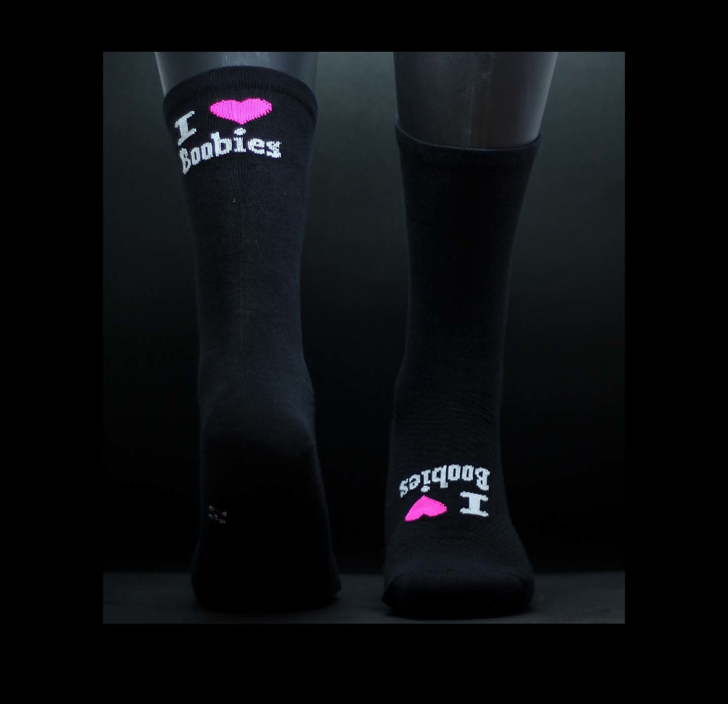 Black Cycling Socks P005