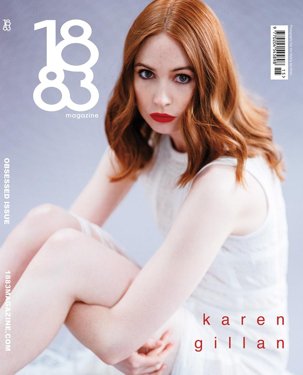 1883 Magazine Obsessed Issue Karen Gillan