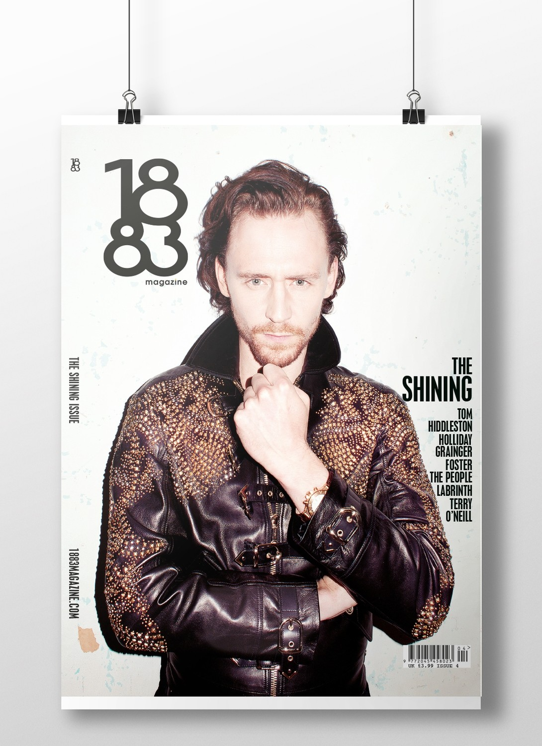 Tom Hiddleston cover poster