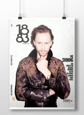Tom Hiddleston cover poster