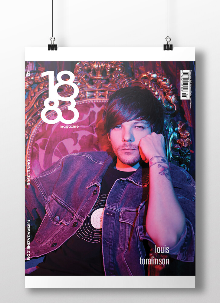 Louis Tomlinson cover poster