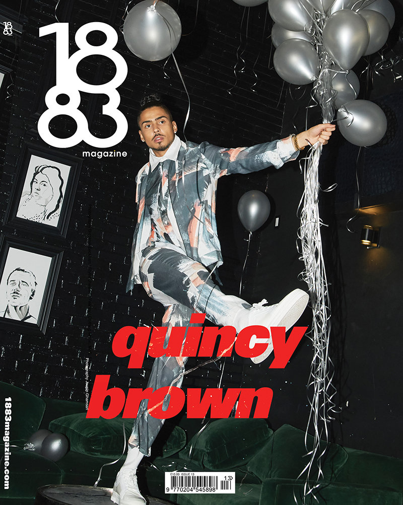1883 Magazine Prime Issue Quincy Brown