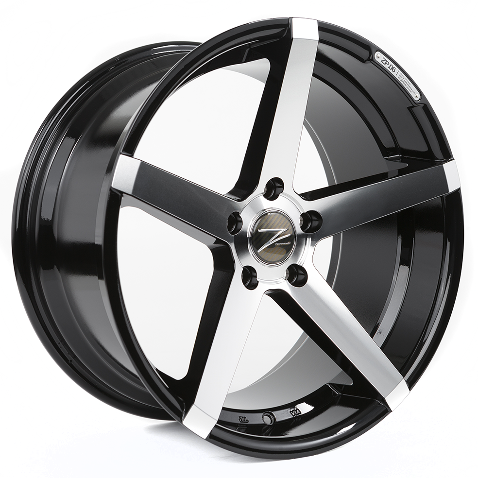 Z-Performance ZP.06 9x18 ET38 5x120 Phantom Black Polish ZP069018512038726GBFP
