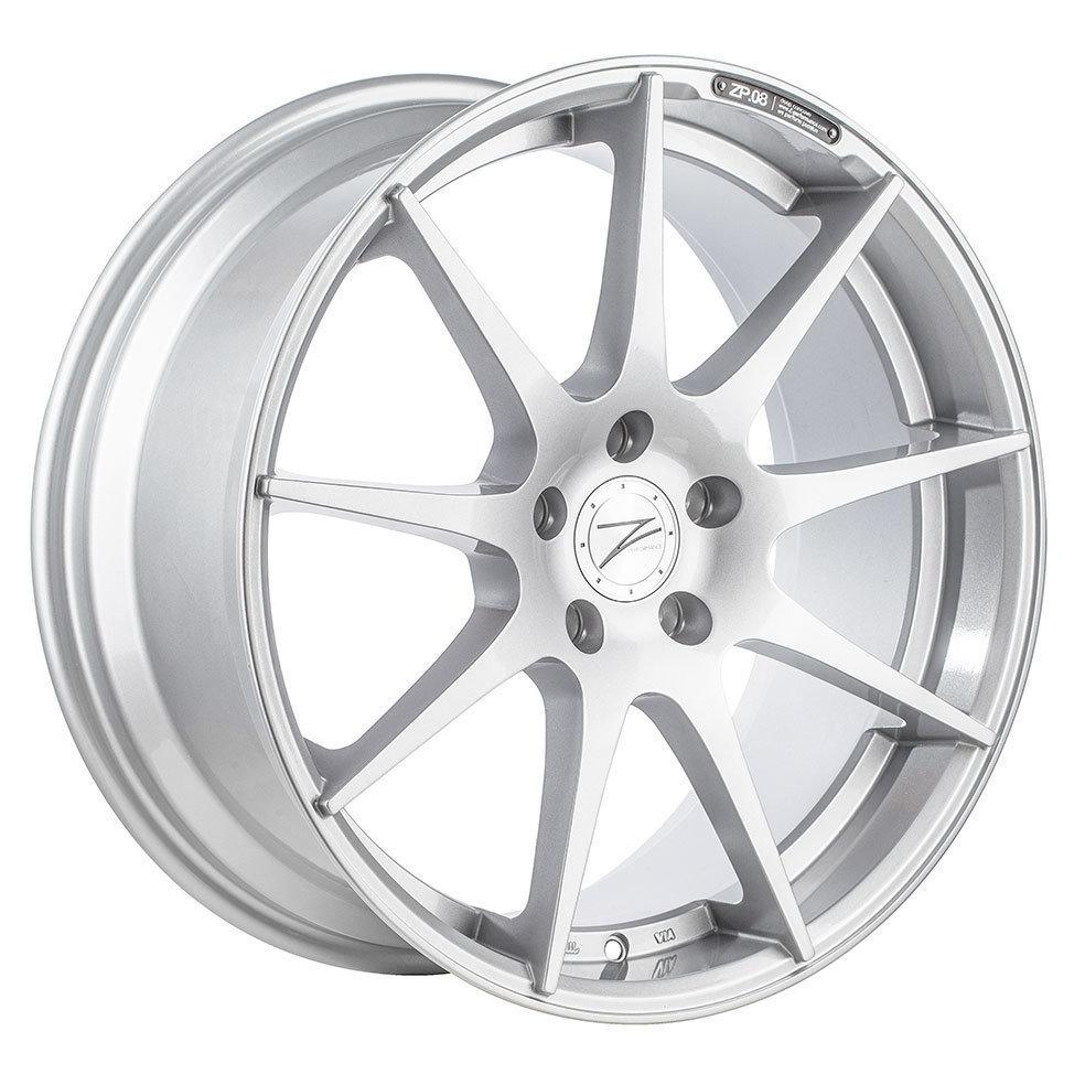 Z-Performance ZP.08 10x20 ET35 5x120 Sparkling Silver ZP081020355120SS