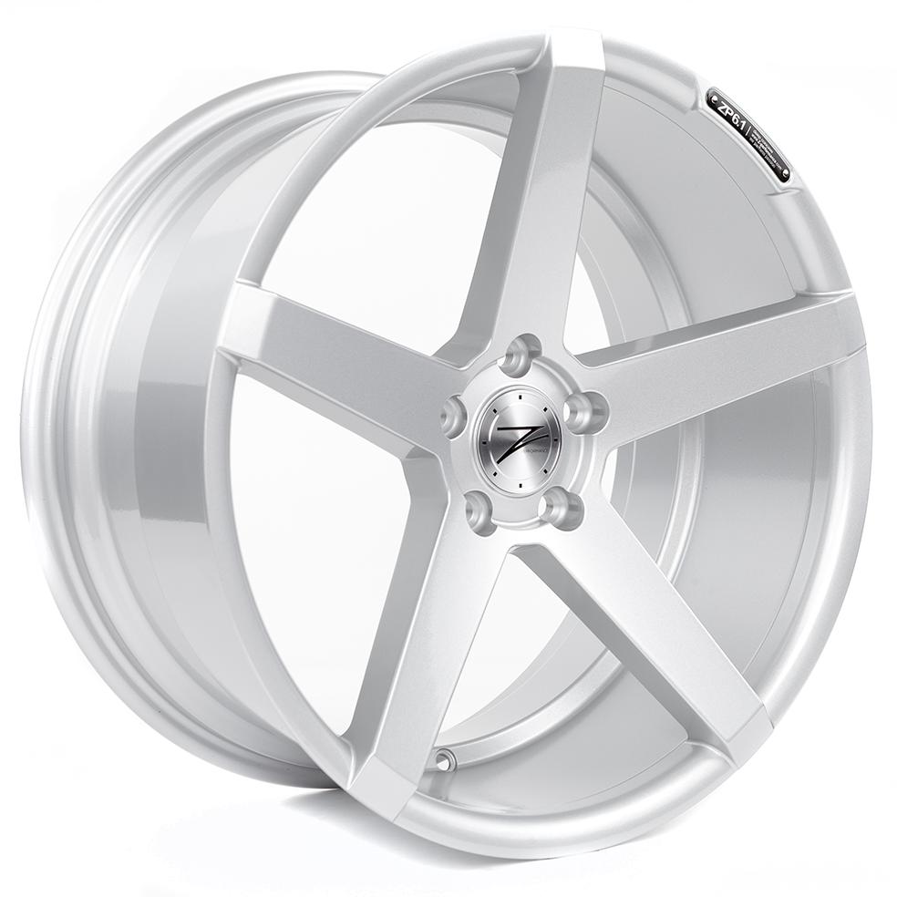 Z-Performance ZP6.1 8.5x19 ET45 5x112 Sparkling Silver ZP618519511245666SSXX