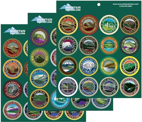 High Peaks Sticker Pack