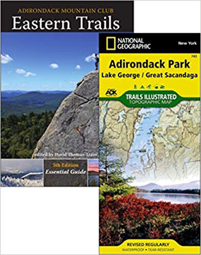 Easter Trails book and map