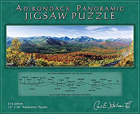 Adirondack panoramic jigsaw puzzle