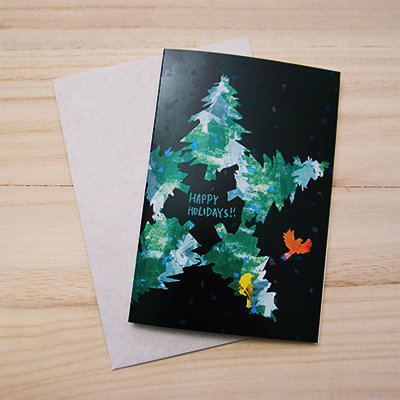 Star Tree Holiday Card 00005