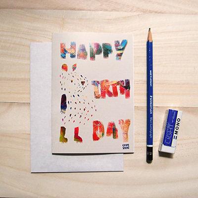 Bear Birthday Card 00009