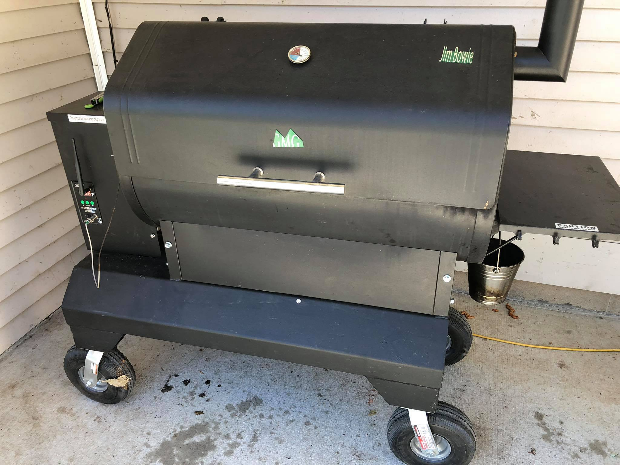 GMG Jim Bowie Competition Cart (Base Model) - Supply your own Grill
