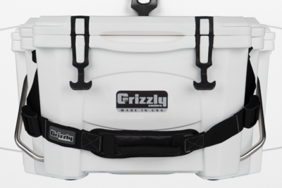 Grizzly 15 Quart Cooler - White (Free Shipping)