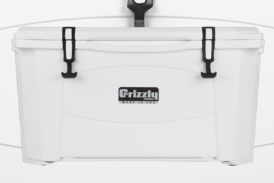 Grizzly 60 Quart Cooler - White (Free Shipping)