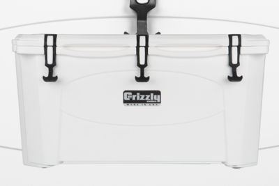 Grizzly 75 Quart Cooler - White (Free Shipping)
