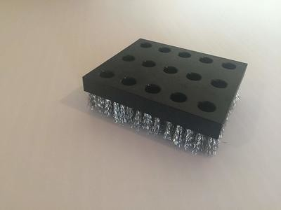 Ice Grill Brush Stainless Replacement Block