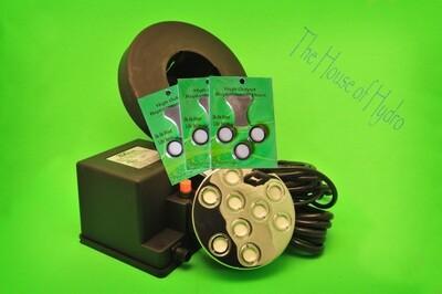 9 Disc Mist Maker Starter Kit