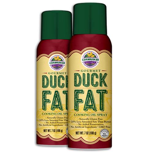 Gourmet Duck Fat Spray 2 Cans (7 Ounce Each) - Free Shipping duckfat2
