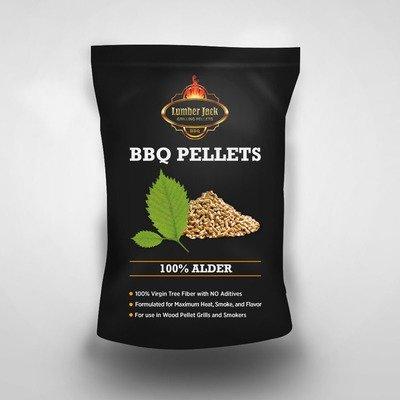 100% Alder Lumber Jack BBQ Pellets