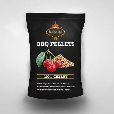 100% Cherry Lumber Jack BBQ Pellets